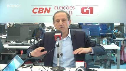 Paulo Skaf (MDB) é entrevistado pelo G1 e pela CBN