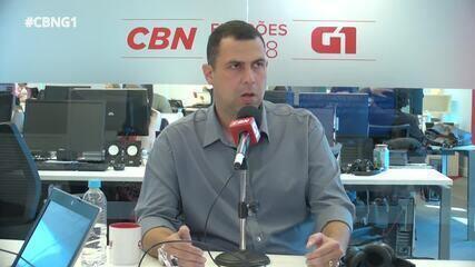 Major Costa e Silva (DC) é entrevistado pelo G1 e pela CBN
