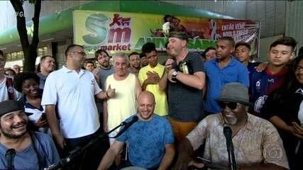 Cafezinho do Escobar na Tijuca celebra a boa rodada dos times do Rio no Brasileirão