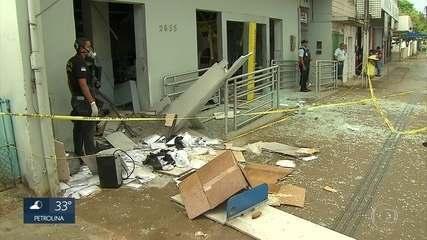Bandidos roubam agência bancária em Moreno, no Grande Recife