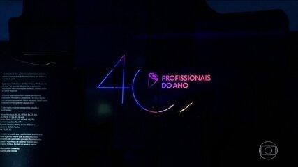 "Festa da propaganda brasileira na entrega do prêmio ""Profissionais do Ano"""