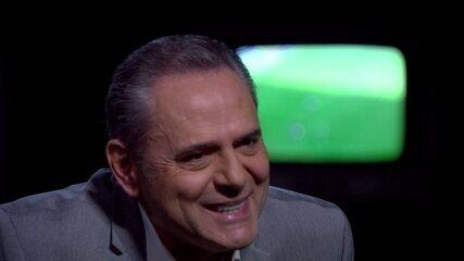 """""""Baú do Esporte"""": Luis Roberto lembra narração da cavadinha de Loco Abreu"""