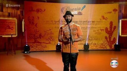 Bráulio Bessa faz cordel sobre a corrida da vida