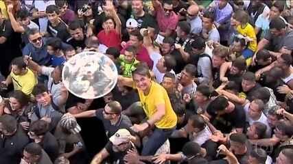 PF conclui que agressor de Jair Bolsonaro agiu sozinho