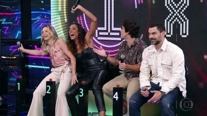 Carmo e Daniel passam a vez e Bianca e Yara acertam a campainha numero quatro