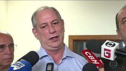 Ciro Gomes faz campanha em Belo Horizonte
