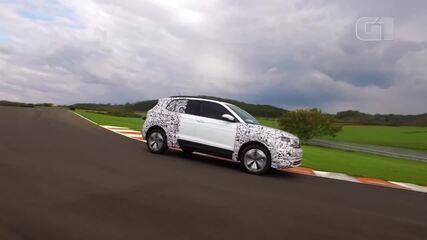Volkswagen mostra o T-Cross em ação no Brasil