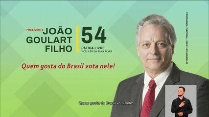 Veja último horário eleitoral do candidato João Goulart Filho