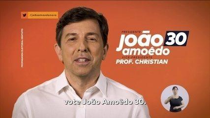 Veja último horário eleitoral do candidato João Amoêdo