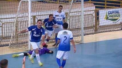 Confira os gols da Copa Brasília de futsal