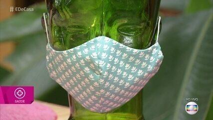 Saiba como fazer máscara protetora decorada