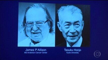 Cientistas ganham Nobel de Medicina por revolução no tratamento contra o câncer