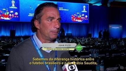 Veja a entrevista com o treinador da Arábia Saudita