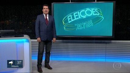 Veja como foi o dia de campanha dos candidatos ao governo do RJ