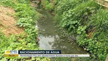 Mantenópolis, ES, fica sem abastecimento de água durante 5 horas por dia