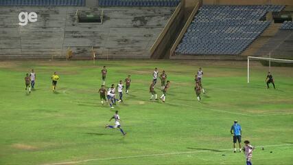 Fluminense-PI sai na frente com Balotelle, mas Piauí empata com Durkheim; veja os gols