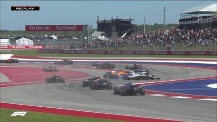 Lance Stroll tira Fernando Alonso da prova
