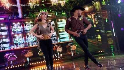 Deborah Evelyn e Rodrigo se apresentam no ritmo country
