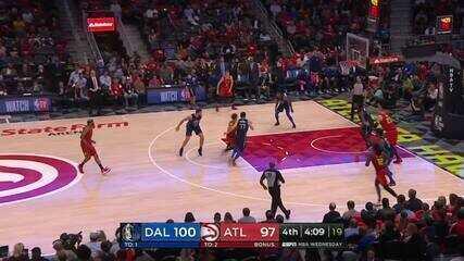 Melhores momentos: Dallas Mavericks 104 x 111 Atlanta Hawks de NBA