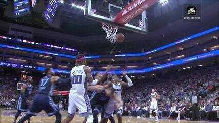 Melhores momentos: Memphis Grizzlies 92 x 97 Sacramento Kings de NBA