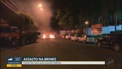 Frentista é feito refém durante ataque a empresa de valores em Ribeirão Preto