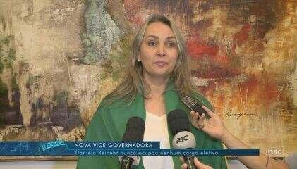 Conheça a nova vice-governadora de SC, Daniela Reinehr