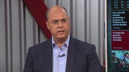 Governador eleito do RJ fala sobre os desafios para os próximos 4 anos