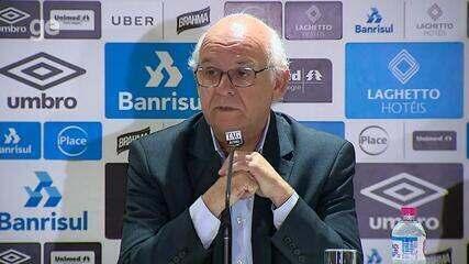 Presidente do Grêmio explica ação do clube da Conmebol