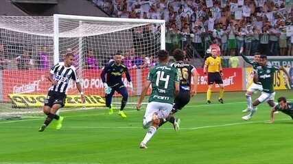 Melhores momentos: Palmeiras 3 x 2 Santos pela 32ª rodada do Brasileirão 2018