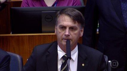 'Constituição é norte da democracia', diz Jair Bolsonaro