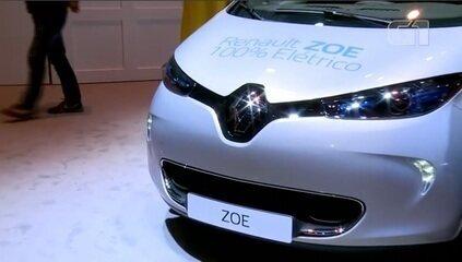 Salão do Automóvel 2018: Renault lança o seu elétrico Zoe
