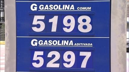 Venda de gasolina cai ao nível mais baixo dos últimos seis anos, segundo a ANP