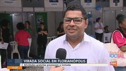 Virada Social promove atividades gratuitas em Florianópolis