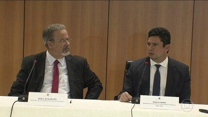 Moro se reúne com o ministro da Segurança Pública