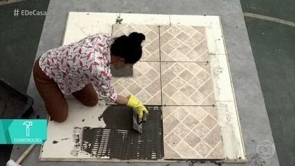 Aprenda a substituir piso antigo por um novo sem fazer obra
