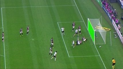 VEJA o tira-teima do gol de Danilo não marcado pela arbitragem