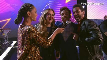 Taís Araujo entrevistou os finalistas no 'PopStar'