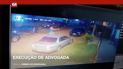 Câmeras de segurança registraram momento em que advogada é executada no Paraguai