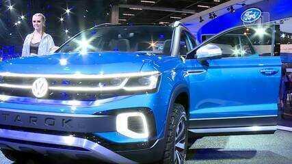G1 mostra como é a picape Volkswagen Tarok, um dos destaques do Salão do Automóvel