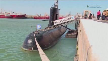 Submarino argentino é encontrado após 1 ano no Atlântico