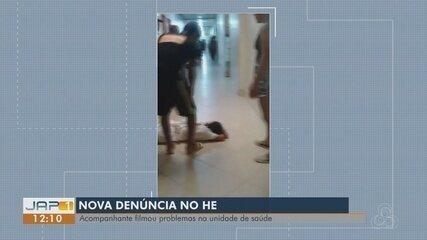 Pacientes reclamam da lotação e da falta de medicamentos no HE de Macapá