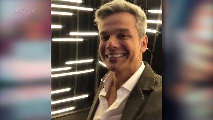 Otaviano Costa mostra bastidores da coletiva de 'Tá Brincando'