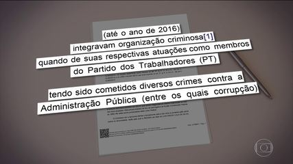Justiça Federal torna réus Lula, Dilma, Mantega e Palocci
