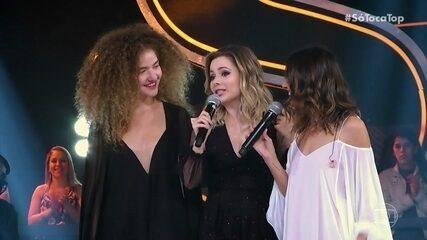 Sandy e Anavitória encantam todos do 'SóTocaTop' com 'Pra Me Refazer'