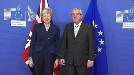 Líderes da União Europeia aprovam acordo do Brexit, em Bruxelas