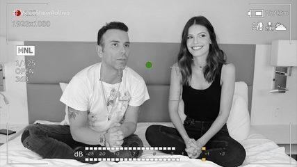 Matheus Mazzafera entrevista Vitória Strada