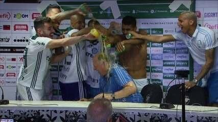 Título do Palmeiras marca recuperação de Luiz Felipe Scolari