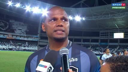 """Jefferson se emociona em sua despedida do Botafogo: """"Só tenho a agradecer"""""""