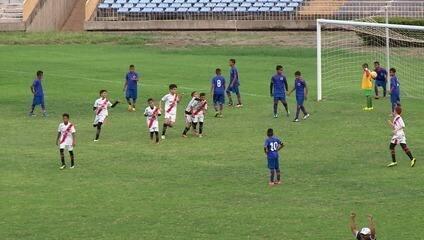 Os gols da vitória do River-PI por 7 a 1 nas oitavas de final da Taça Clube