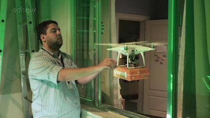 Veja como foi feita cena de drone entregando um pacote de fraldas em 'Pais de Primeira'